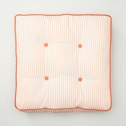 OUI INDOOR/OUTDOOR TUFTED LOUNGE PILLOW PEACHES