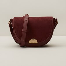LOVE AND LORE SPENCER CROSSBODY BAG AUBURN