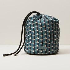 Love And Lore Drawstring Cosmetic Bag Geo Print