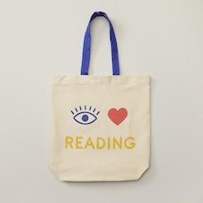 FOURRE-TOUT EN TOILE EYE HEART READING