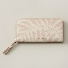 LOVE AND LORE EDEN CONTINENTAL WALLET FLOATING REEF