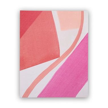 "MOGLEA BLUSH PAINT STROKES ART PRINT – 11"" x 14"""