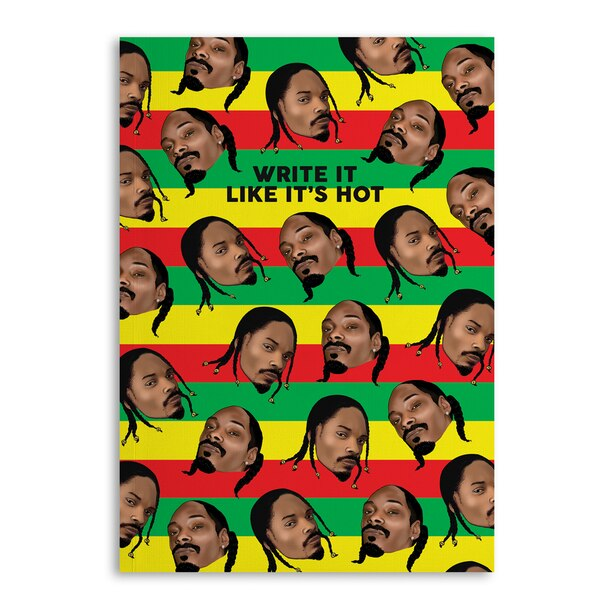Central 23 Softcover Notebook Snoop Dogg