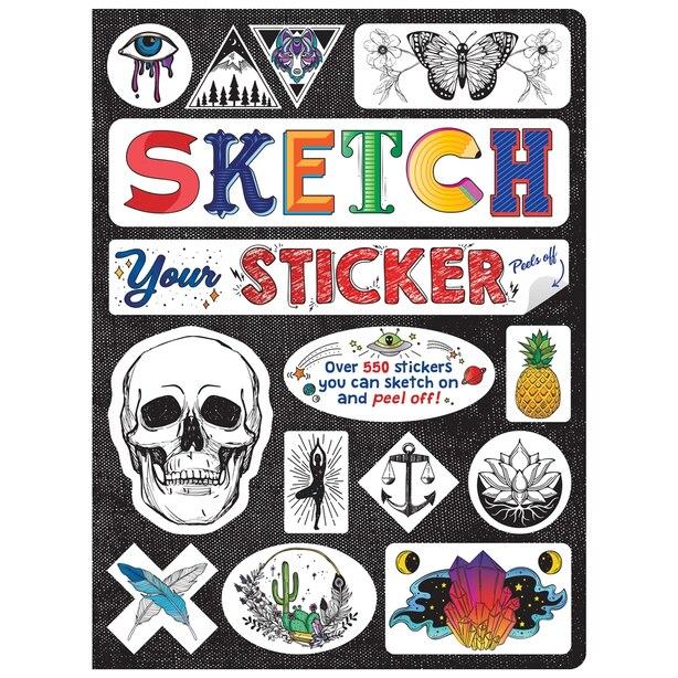 Sketch Your Sticker Sketchbook