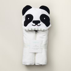 INDIGOBABY BABY HOODED TOWEL - PANDA