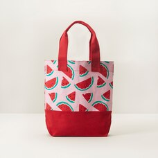 IndigoKids Canvas Beach Tote - Watermelon