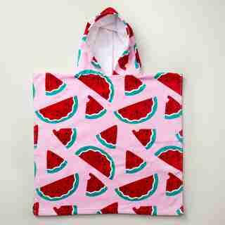 IndigoKids Poncho Towel - Watermelon