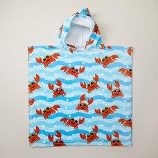 IndigoKids Poncho Towel - Crabs