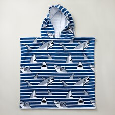 IndigoKids Poncho Towel - Shark