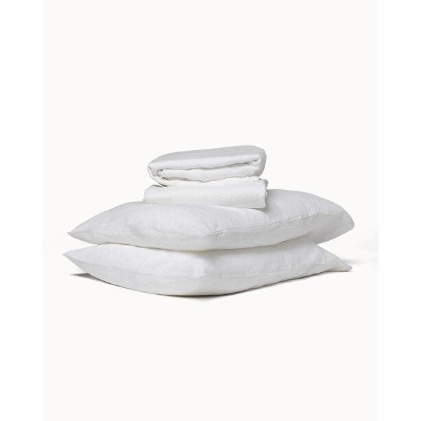Flax Sleep Linen Sheet Set — Cloud, Queen