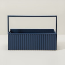HACHIMAN OMNIOFFRE STORAGE BOX NAVY SMALL