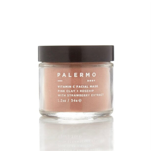 PALERMO BODY VITAMINC C FACIAL MASK WITH PINK CLAY AND ROSEHIP