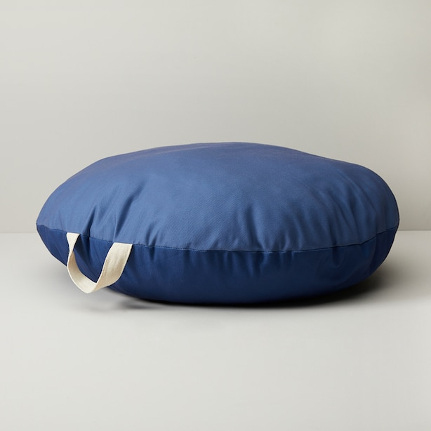 MINI MAISON BLUE CANVAS FLOOR CUSHION