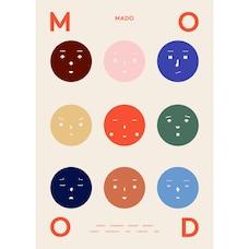 """9 Moods Art Print 8"""" x 10"""""""