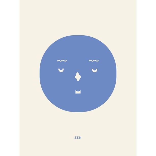 "Zen Feeling Art Print 8"" x 10"""