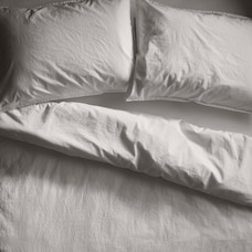 OUI ORGANIC COTTON SHEET SET QUEEN SNOW