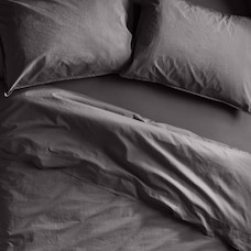 OUI ORGANIC COTTON SHEET SET QUEEN STORM