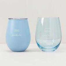 INSULATED WINE TUMBLER & GLASS SET