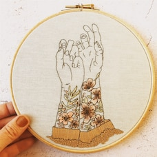 Tattooed Arms Embroidery Kit
