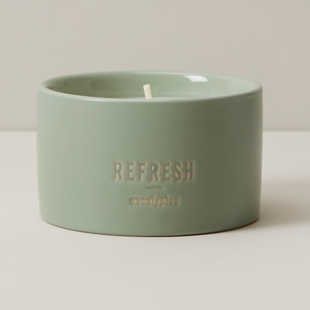 NATURAL WELLNESS CANDLE REFRESH SMALL