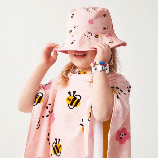 WONDER CO. PRINTED SUN HAT BUMBLE BEE