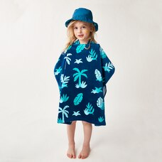 WONDER CO. x ERICA SHAW PONCHO TOWEL TROPICAL PALM