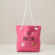 WONDER CO. BEACH TOTE BUMBLE BEE