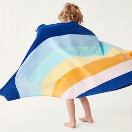 KIDS BEACH TOWEL, RAINBOW
