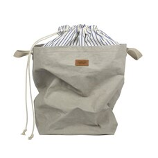 UASHMAMA POSITANO DRAWSTRING BAG GREY STRIPE