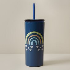 WONDER CO. STRAW TUMBLER RAINBOW