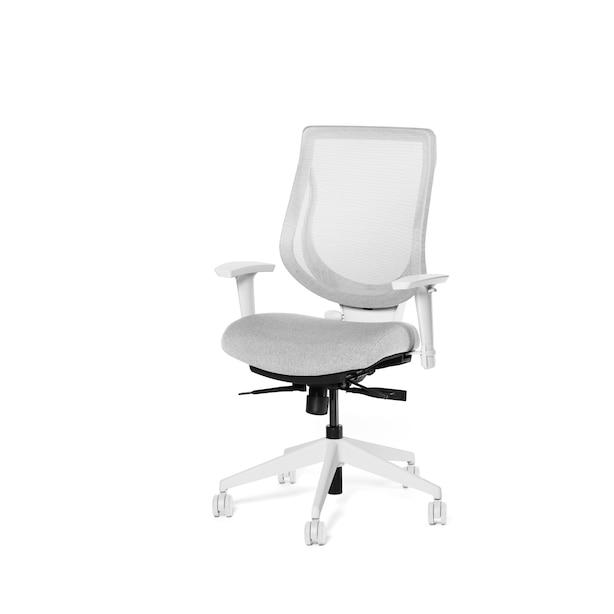 Ergonofis YouToo Ergonomic Office Chair White Frame