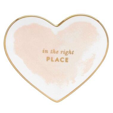 Kate Spade New York® Small Heart Dish - Blush