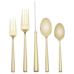 Kate Spade New York® Malmo Gold Flatware 5-Piece Place Setting