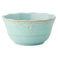 French Perle Aqua Bowls – Set of 4