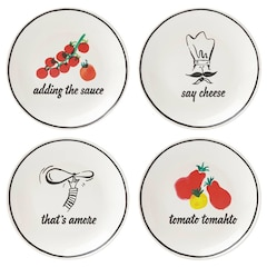 Kate Spade New York® Any Way You Slice It Plates – Set of 4