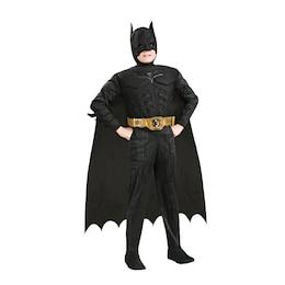 Rubie's Costumes Kids Deluxe Muscle Costume  Batman Size M
