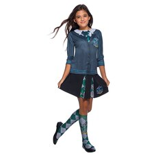 Rubies Costumes Kids' Harry Potter Hogwarts Costume Top Slytherin Size M