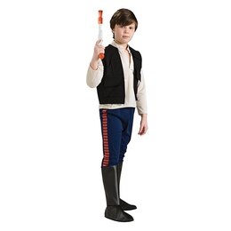 Rubies Costumes Kids' Deluxe Star Wars Costume Han Solo Size S