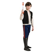 Rubies Costumes Kids' Deluxe Star Wars Costume Han Solo Size M