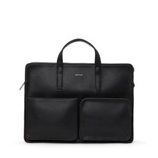 Matt & Nat® Soren Black Mens Briefcase