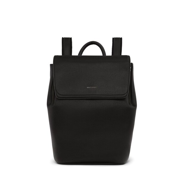MATT & NAT® Fabi Mini Vintage Backpack - Black