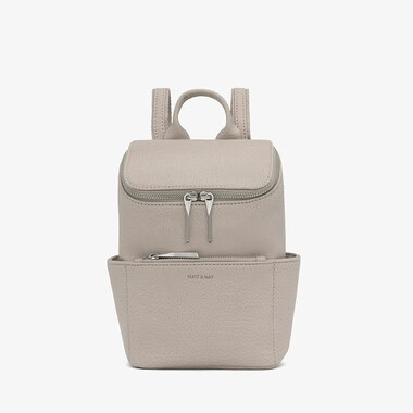 Matt &Amp; Nat Brave Mini Dwell Backpack   Koala  Matte Nickel by Matt And Nat