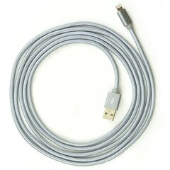 Libratel 7 Feet Braided Lightning Cable - Grey