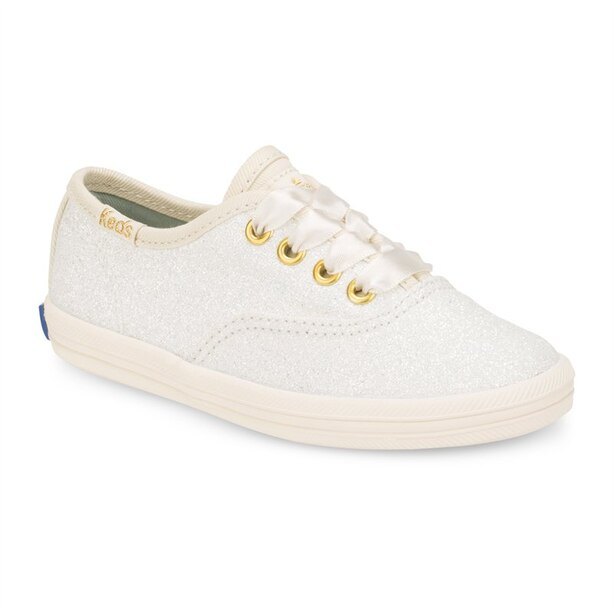 TODDLER KEDS BY KATE SPADE CREAM SIZE 6