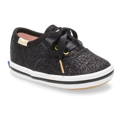 Keds® Baby Sneakers Kate Spade New York Champion Glitter Black Size 1