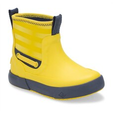Sperry SEAWALL BOOT Yellow Kids Size 5