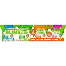 Cra-Z-Art® Nickelodeon Neon Slime 4-Pack