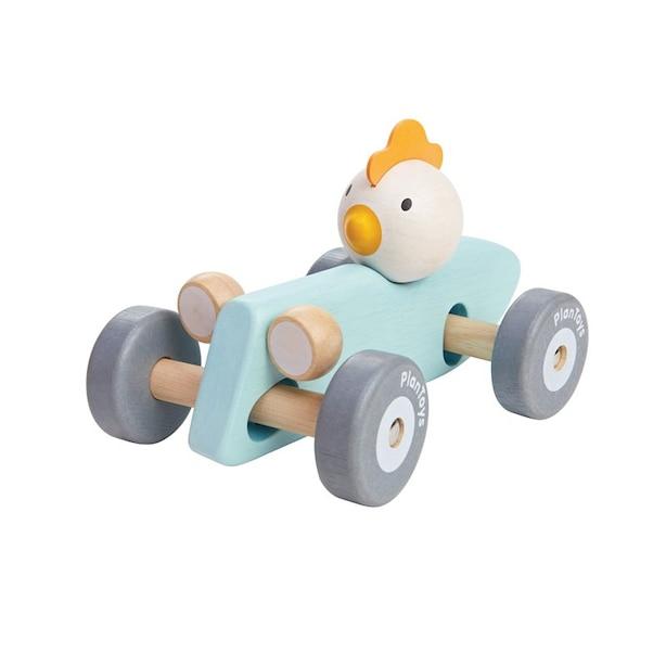 PLAN TOYS RACING CAR CHICKEN