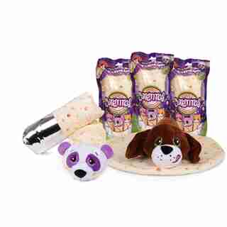 Cutetitos™ Blanket-Wrapped Collectible Plush Animals