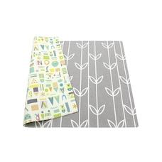 Baby Care™ Playmat Sea Petals Grey Medium